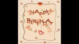 happy birthday to you - dang cap nhat