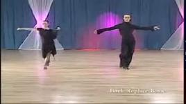rumba (bronze) - forward walk turn - slavik kryklyvyy, karina smirnoff, dancesport