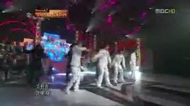 tell me your wish (genie - snsd) [star dance battle 04-10-2009] - super junior