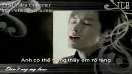 don't cry my lover - dbsk