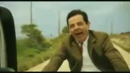 mr.bean dua xe - mr.bean