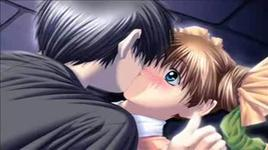 couples in anime kissing - dang cap nhat