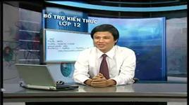 bai 5 & 6 - bai toan tim cong thuc phan tu (htv 4 - hoa hoc 12 nam 2010) - nguyen tan trung