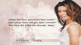 whose bed your boots been under (with lyrics) - shania twain