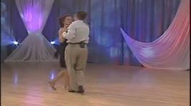 slow (beginning level) - demonstration of steps 1 - 5 - dancesport