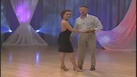 slow (intermediate level) - demonstration of steps 1 - 5 - dancesport