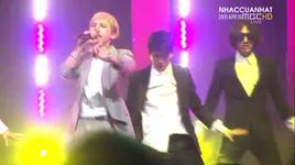 love song + stupid liar (live) @ music core 16/4/2011 - bigbang