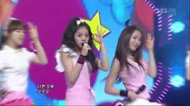 twinkle twinkle (live) @ inkigayo 1/5/2011 - girl's day
