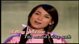 con de chung tinh (karaoke) - phi nhung