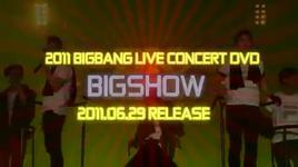 gioi thieu big bang - big show 2011 live concert - bigbang