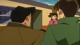 an mang tren chuyen tau  - detective conan