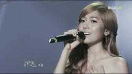 one year later (live) - jessica jung, onew (shinee)