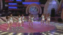 110619 shampoo & because of you - after school