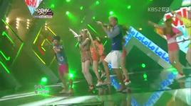 lalala (fiesta) @ kbs music bank (8/5/2011) - mighty mouth, soya
