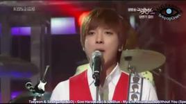 my life would suck without you (cover) - tae yeon (snsd), seo hyun (snsd), goo hara (kara), cnblue
