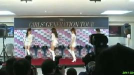 2011 girls' generation tour - press conference (part 1) - snsd