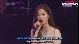 falling slowly - seo hyun (snsd), shin seung hun
