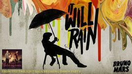 it will rain (handmade clip) - bruno mars