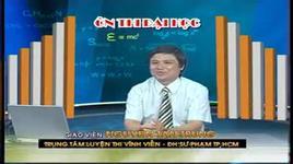 on thi dai hoc lop 12 - 2010: hoa hoc - bai 11 & 12 - nguyen tan trung