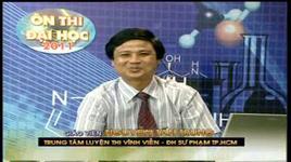 on thi dai hoc lop 12 (nam 2011) - mon hoa hoc: bai 33+34 - nguyen tan trung