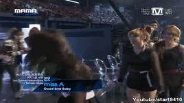 best dance female award (mnet asian music awards @ mama 29/11/2011)  - miss a