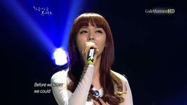 when you believe - sunye (wonder girls), ha:tfelt (ye eun), sunye (wonder girls), ha:tfelt (ye eun)
