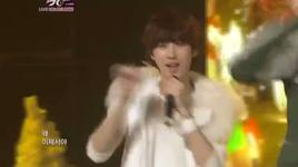 special stage - music bank (end year) - dal shabet, a pink, b1a4, boyfriend