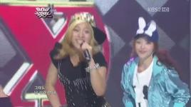 gangsta boy & pinocchio (danger) (music bank 600th) - f(x)