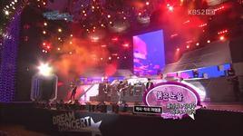 red sunset (kbs dream concert) - flower, kim tae woo, seo in guk, eru