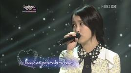 lucky (111223 music bank) - iu, yong hwa (cnblue)