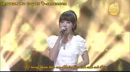 [vietsub] we were in love - live inkigayo - davichi, t-ara