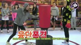 yoona vs. sunny boxing ring scene (dangerous boys ep8 cut) - yoona (snsd), sunny (snsd)