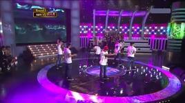 b2st vs mblag dance battle @ chuseok special 23/9/2010 - beast, mblaq