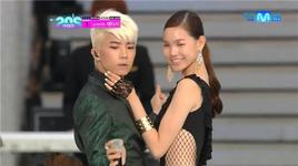2night (120628 mnet 20's choice awards) - woo young (2pm)