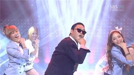 gangnam style (120729 inkigayo) - psy, kara, sistar, after school