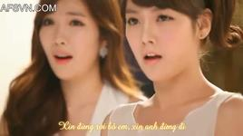 we were in love (vietsub) - davichi, t-ara