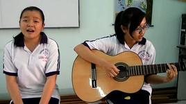 because of you (cover) - ha uyen & lan anh (hula) - tui hat