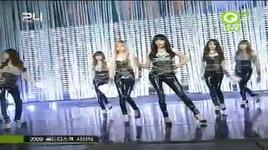 chocolate love + gee (live) @ 24th golden disk awards 10/12/2009 - snsd