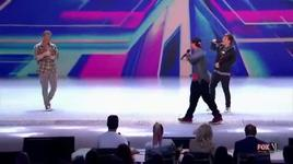 the x factor usa - ep 1 - s2 (p6) - britney spears, demi lovato, simon cowell, l.a. reid