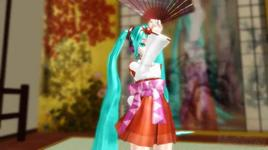 the usual cherry blossom front (vocaloid mmd) - hatsune miku
