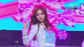don't forget me (121103 music core) - girl's day