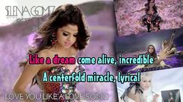 love you like a love song (kara) - selena gomez & the scene
