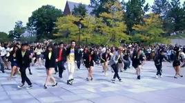 gangnam style flash mob hosted by hip hop - v.a