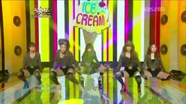 ice cream (live) - hyuna (4minute)