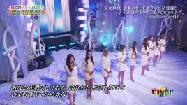 all my love is for you (live) - snsd