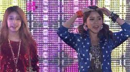 lovey dovey, sexy love (121202 mbc korean music wave in kobe) - t-ara