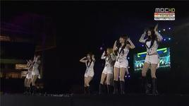 lovey dovey (121208 music core in vietnam) - t-ara