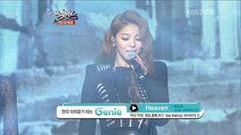 heaven (121221 music bank year end special) - ailee, infinite h