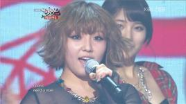 i don't need a man (121221 music bank year end special) - miss a
