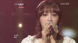 all for you (121221 music bank year end special) - lee jae hoon, kim sung soo, eun ji (a pink)